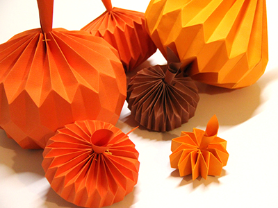 origami d'automne