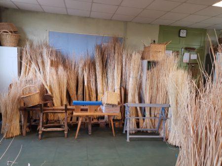 Vannerie - atelier - amandine clavelin - rotin