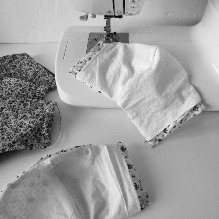 coudre un masque en tissu