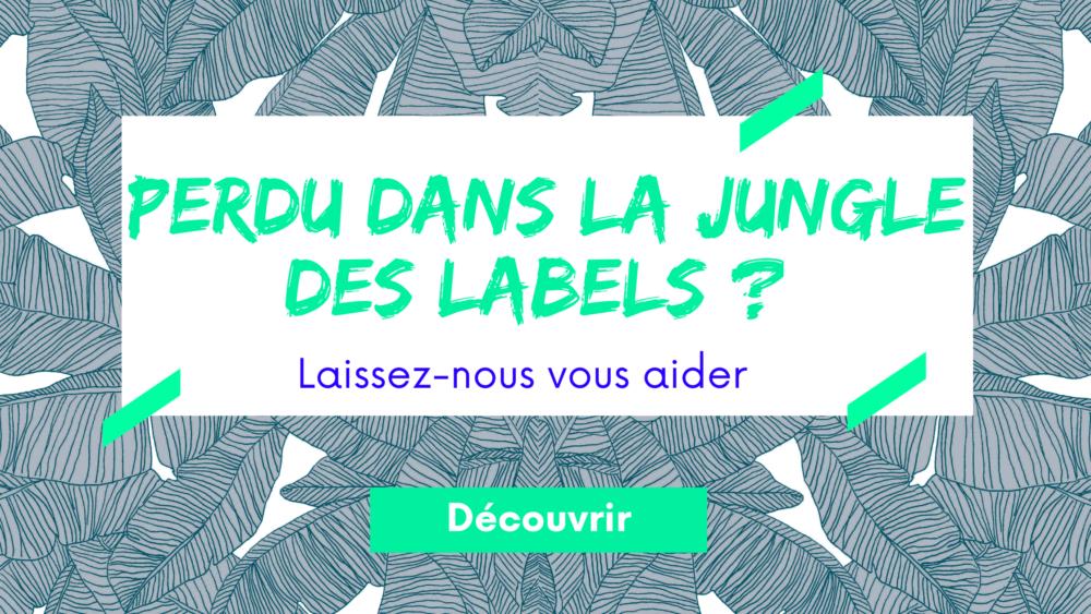 Bannière labels