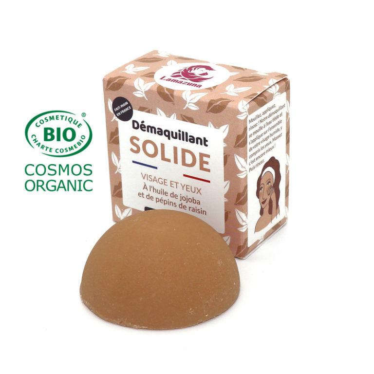 DÉMAQUILLANT SOLIDE - LAMAZUNA - 9,90€